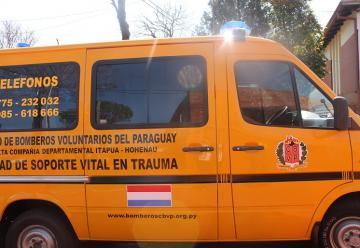 Nueva ambulancia para los Bomberos Voluntarios de Hohenau