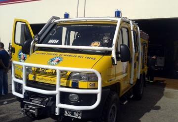 Entregaron nueva autobomba para Bomberos de Choele Choel