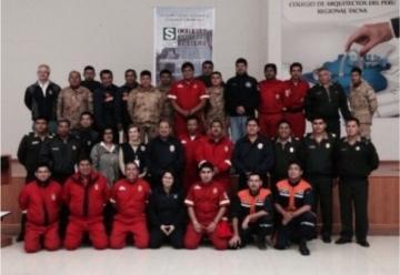 Curso binacional sobre sistema comando de incidentes realizan Bomberos de Peru y Chile