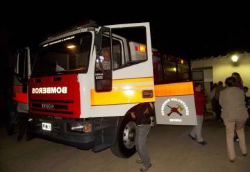 Bomberos Voluntarios de Rivera ya cuenta con nueva autobomba