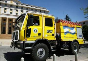 Bomberos de Eldorado recibio un vehículo 0 km Forestal 4×4