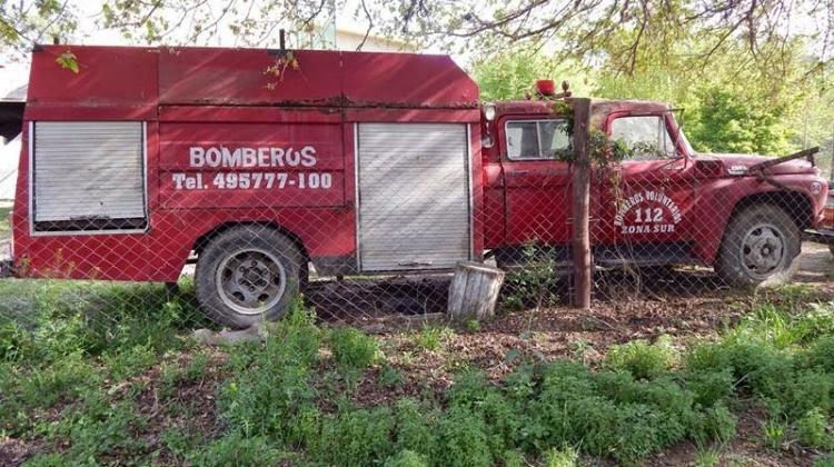 Bomberos Voluntarios La Paz, compro nueva autobomba