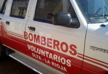 Bomberos Voluntarios de Olta presentaron la nueva unidad