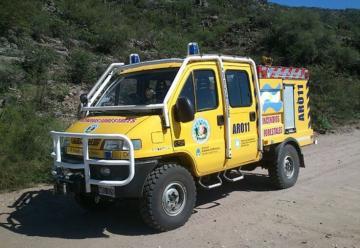 Bomberos Valle Fertil sumó una 4×4 para incendios forestales