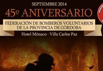 La Federación de Bomberos de Córdoba celebra sus 45 años