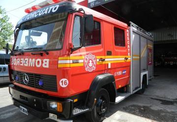 Bomberos Voluntarios de Don Torcuato tiene una nueva autobomba