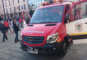 Ponferrada invierte 135.000 euros en un nuevo vehículo para los bomberos