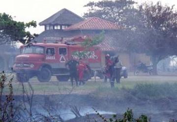 Bomberos de Beni gestionan vehículos