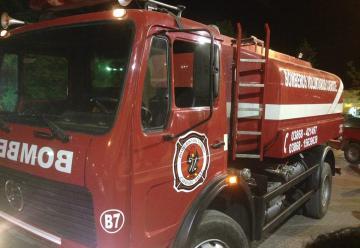 Nuevo camión cisterna para los Bomberos Voluntarios de Cafayate