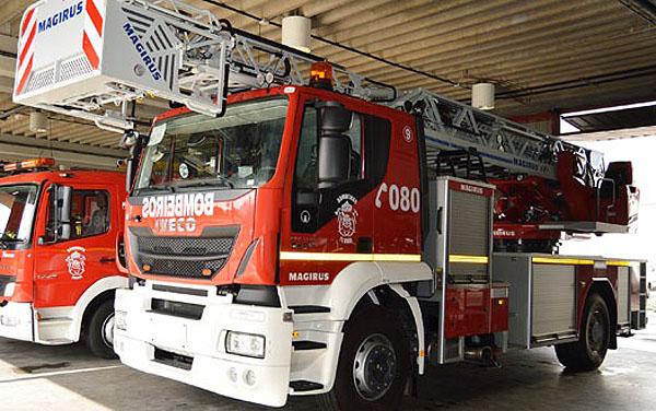 Los Bomberos de Ferrol cuentan con un nuevo auto-escalera