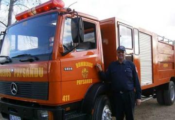 Destacamento de Bomberos de Paysandú cuenta con nuevo camión