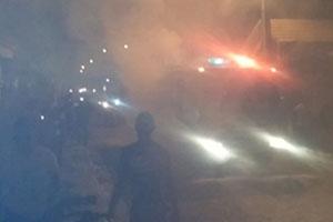 Un camión de bomberos de San Juan de la Maguana asusta a la multitud, se estaba quemando?