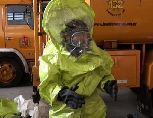 Ébola: bomberos se alistan