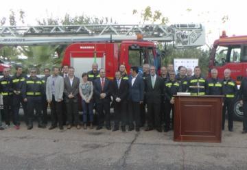 El parque de bomberos Don Benito-Villanueva estrena dos camiones nuevos