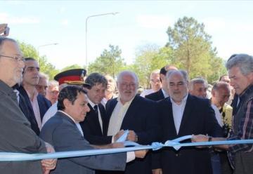 Colombi inauguró Cuartel de bomberos en Pasos de los Libres