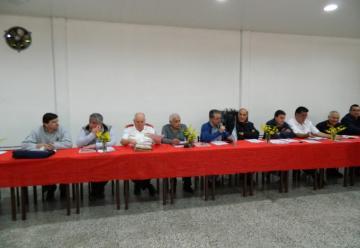 Nuevo Presidente en la Federacion Bonaerense de Bomberos Vol.