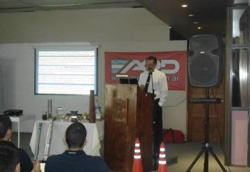Jornada Nacional de Concentrados de Espuma contra incendios en Chascomús