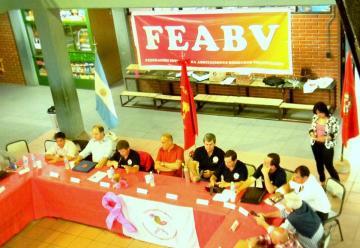 Reunión FEABV en Villa Elisa con la visita del presidente del consejo nacional