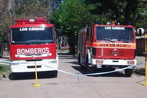 Los Bomberos Voluntarios de los Cardos adquirieron dos nuevas unidades
