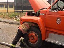 Otro accidente con camión de Bomberos