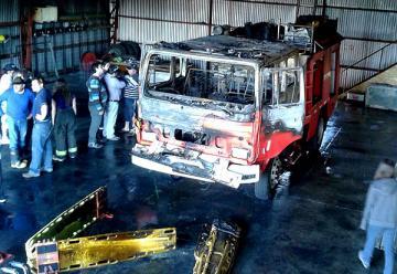 Cadete de bomberos confesó ser el autor de la serie de incendios en Curacautín