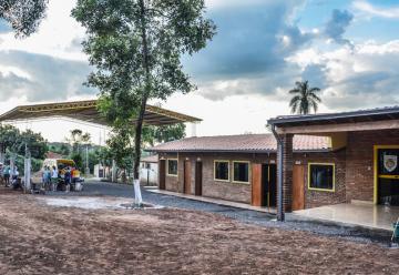 Inauguración del cuartel Primera Compañía de Caazapá