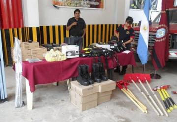 Los Bomberos Voluntarios de Salvador Mazza cuentan con nuevo equipamiento