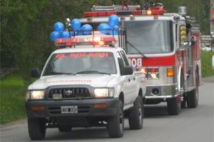 Resultado de imagen para bomberos voluntarios de el bolson