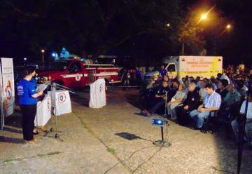 Bomberos Voluntarios de Quitilipi presento dos nuevas unidades