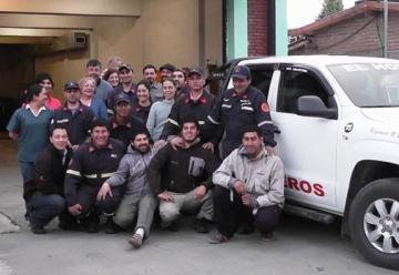 Bomberos de El Hoyo recibieron un móvil nuevo