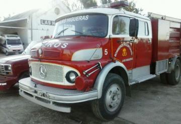 Bomberos Voluntarios de Las Higueras presento una nueva autobomba