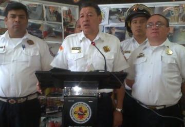 El Cuerpo Voluntario de Bomberos (CVB) están a punto de la suspensión de los servicios
