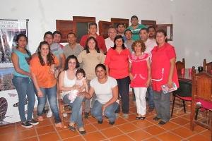 Pampa de los Guanacos conformo su cuerpo de Bomberos Voluntarios
