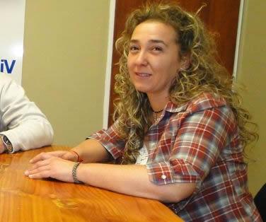 Karina Cuevas, nueva Jefa del Cuerpo Activo de Bomberos Voluntarios