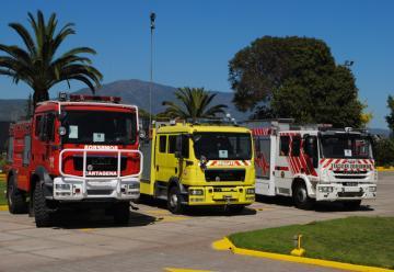 Nuevas unidades para bomberos de Cartagena – Buin y Metropolitano Sur
