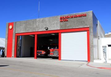 Inauguran estación de bomberos y Cruz Roja en Natura