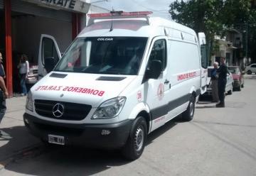 Nueva unidad de rescate de los Bomberos Voluntarios de Zarate