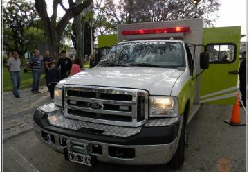 Bomberos de Nogoya presentó la nueva unidad de rescate