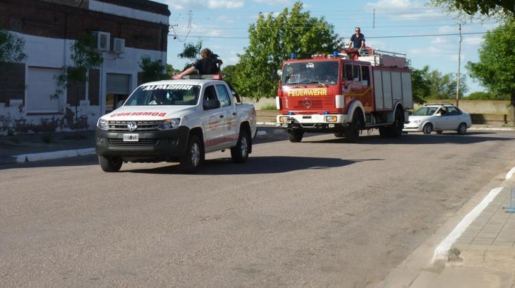 Bomberos Voluntarios de Alpachiri adquirió una nueva autobomba
