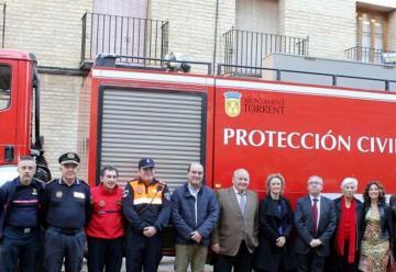El Consorcio de Bomberos de Valencia dona una autobomba al Ayuntamiento de Torrent