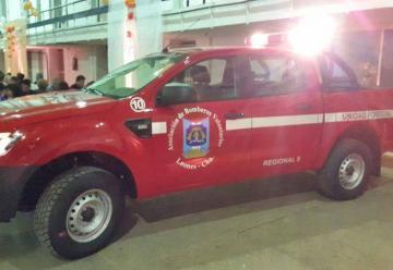 Bomberos Voluntarios de Leones nueva camioneta O Km