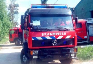 Flamante autobomba para Huinca Renancó