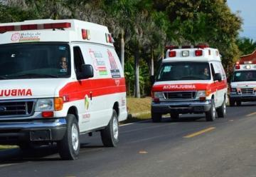 Entrega alcalde 6 ambulancias a Protección Civil y Bomberos