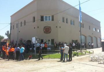 Inauguraron el nuevo cuartel de Bomberos Voluntarios de Cafayate