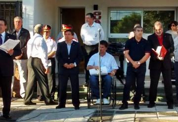 Emotivo acto de Bomberos Voluntarios de Carcarañá festejó sus 50 años