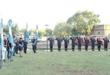 La comunidad de Comodoro Py  inauguró el cuerpo de Bomberos Voluntarios