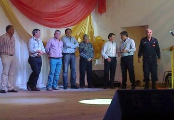 Herrera cuenta con un Destacamento de los Bomberos Voluntario de Basavilbaso