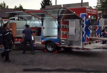 Bomberos Voluntarios de Villa La Angostura presentaron la nueva unidad de rescate