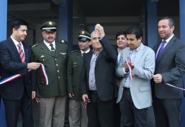 En Quilpué se inauguró cuartel de la Primera Compañía de Bomberos