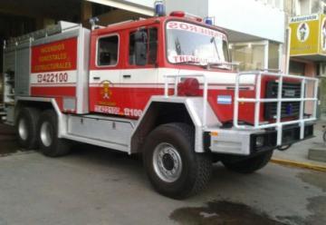 Bomberos Voluntarios de Trenque Lauquen recibieron  una unidad 6×6 para incendios forestales.